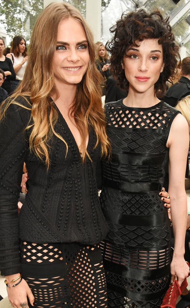 Is Cara Delevingne Engaged To St Vincent Actress Wearing Stunning