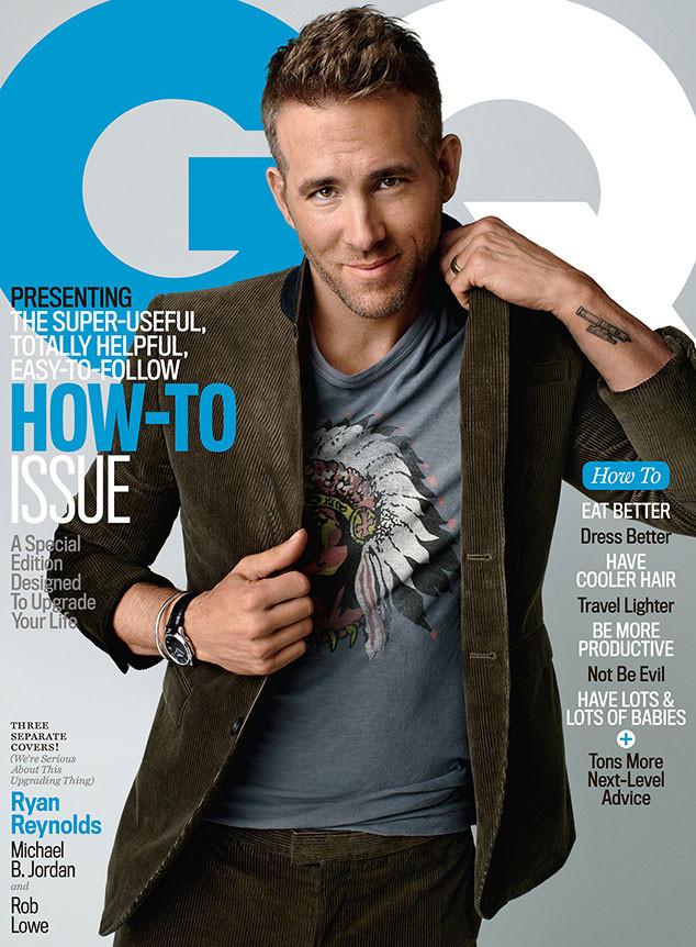 Ryan Reynolds, GQ