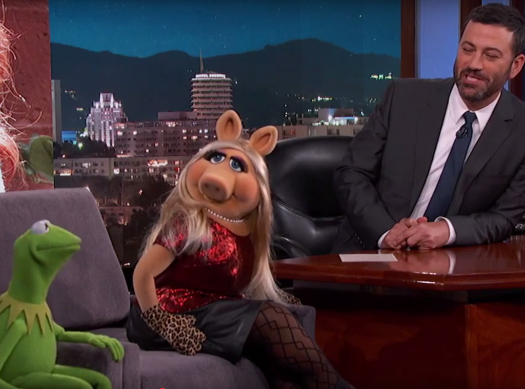 Kermit the Frog, Miss Piggy, Jimmy Kimmel Live!