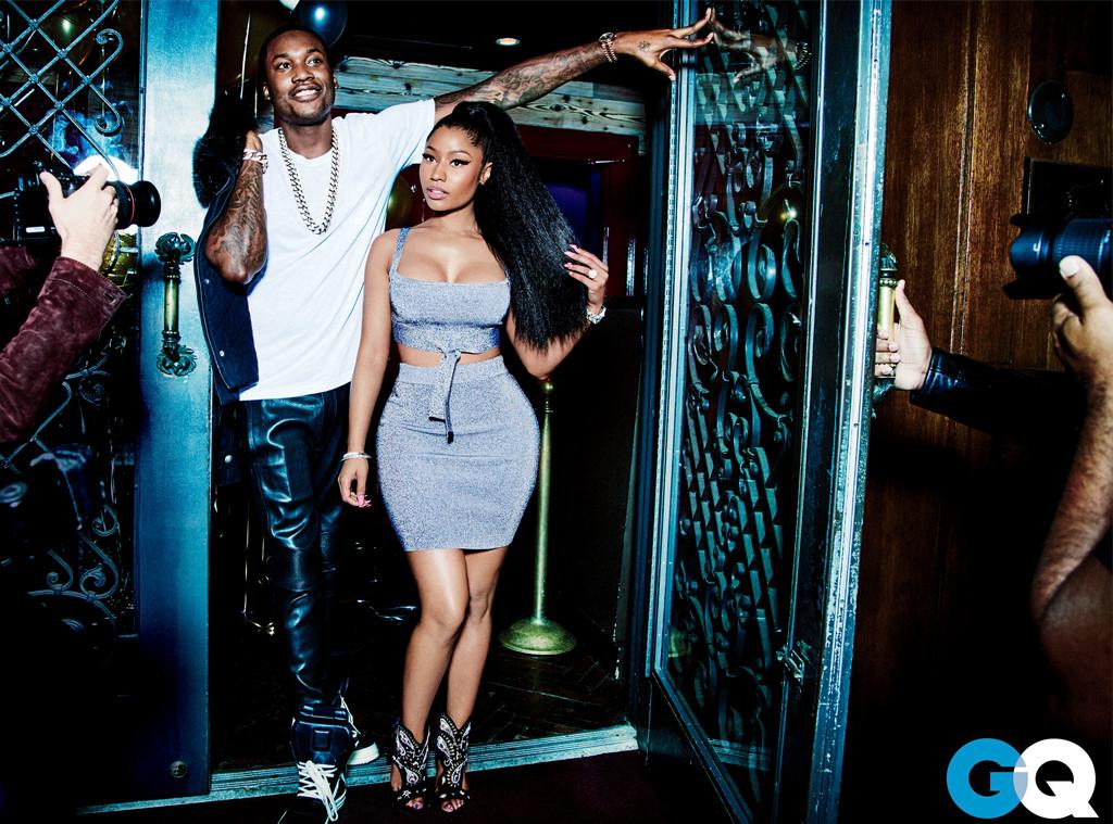 Nicki Minaj, Meek Mill, GQ