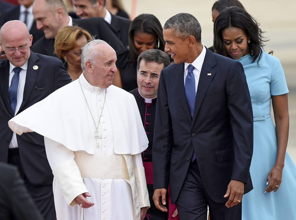 Pope Francis, Barack Obama