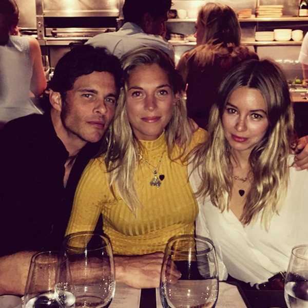 james marsden and singer edei continue to fuel romance rumors celebrate their birthdays. Black Bedroom Furniture Sets. Home Design Ideas