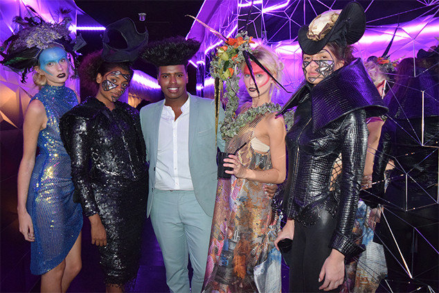 Fashion Blogger Prince Cassius Gives You The Inside Story On AOFM's 10th Anniversary Party At London Fashion Week