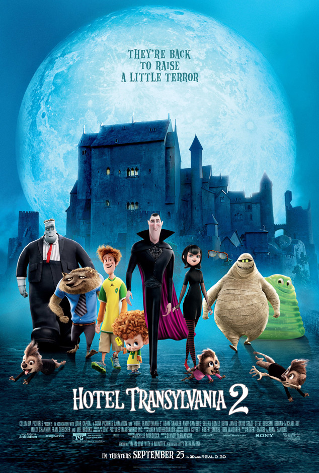 Hotel Transylvania 2 movie poster, Sony Pictures Animation