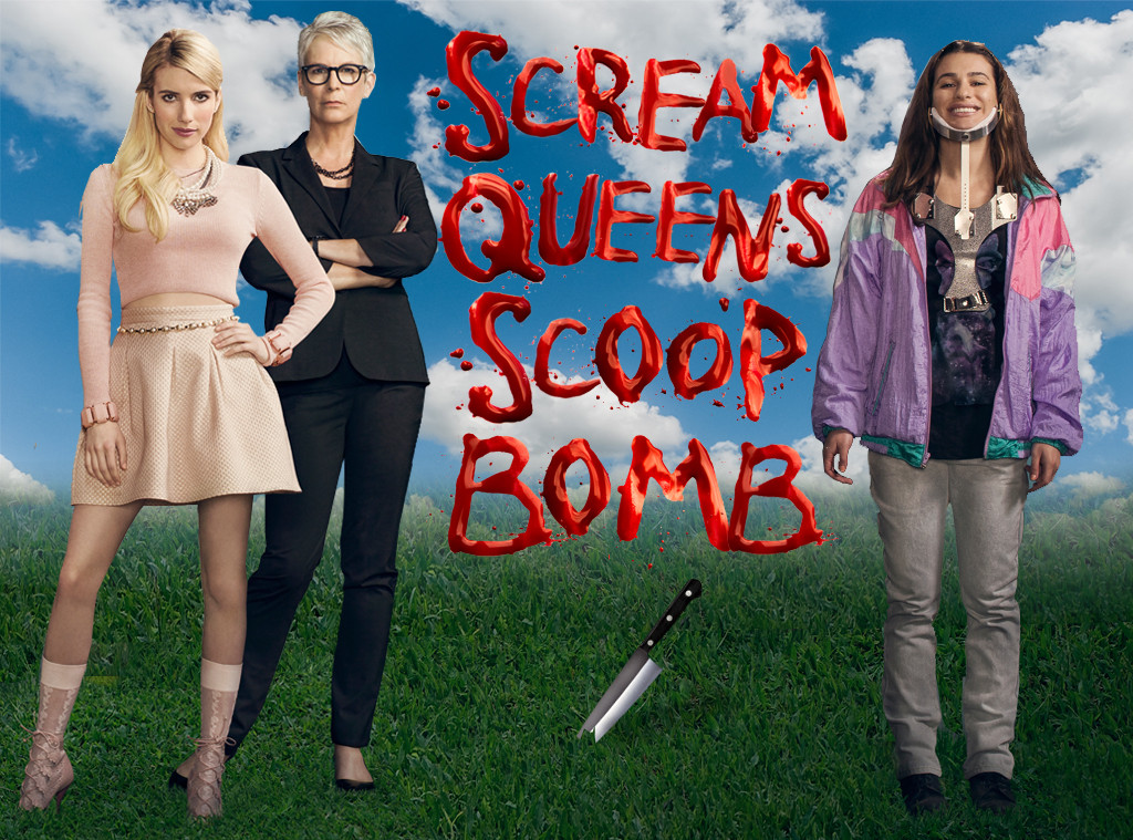 Scream Queens Scoop Bomb