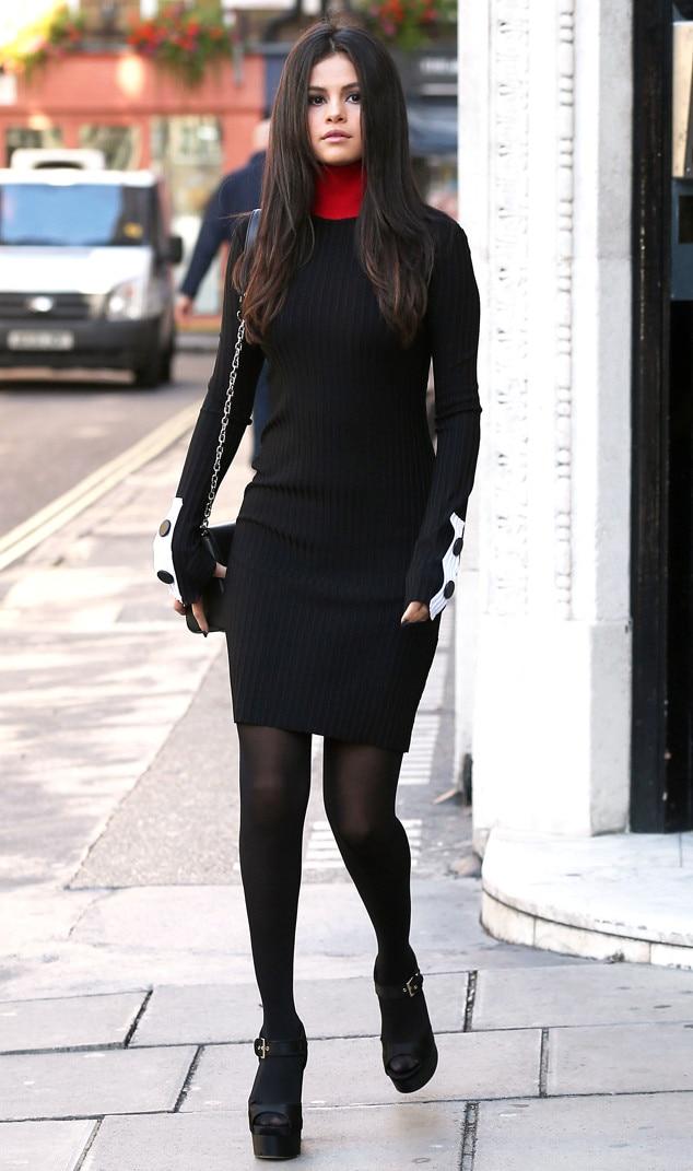 slick  sleek from selena gomez's street style  e news