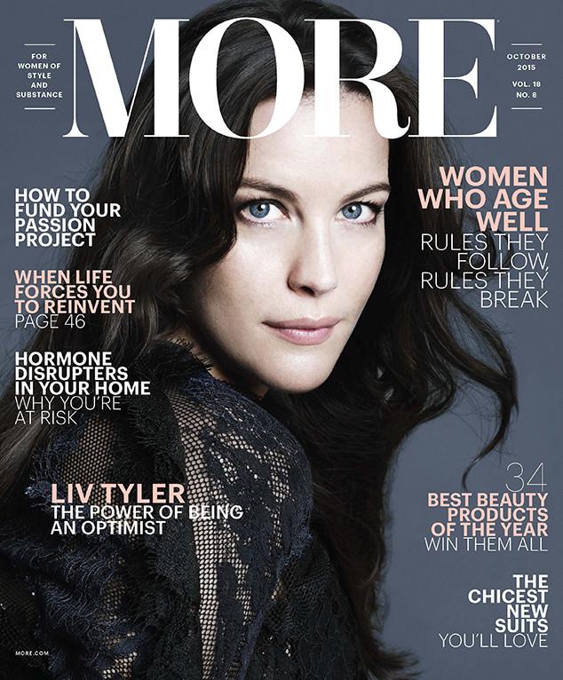 Liv Tyler, More Magazine