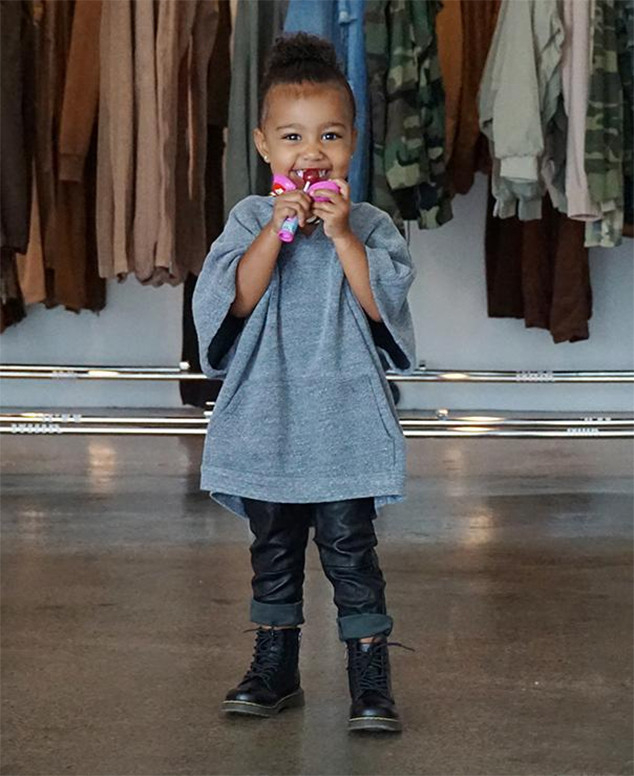 North West, Instagram Pic