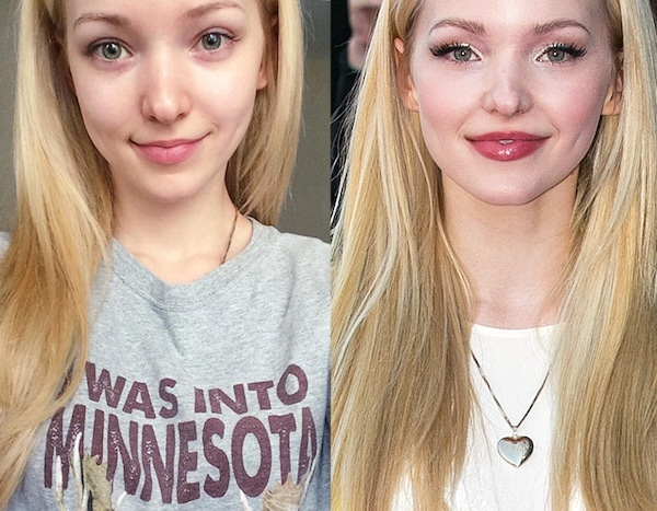 Dove Cameron From Stars Without Makeup E News