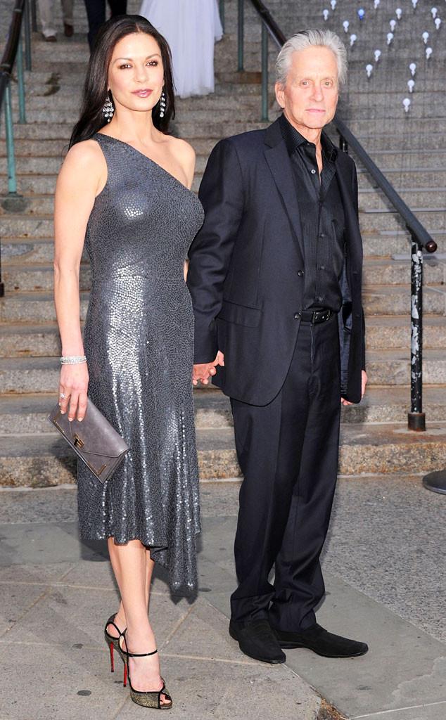Catherine Zeta-Jones, Michael Douglas