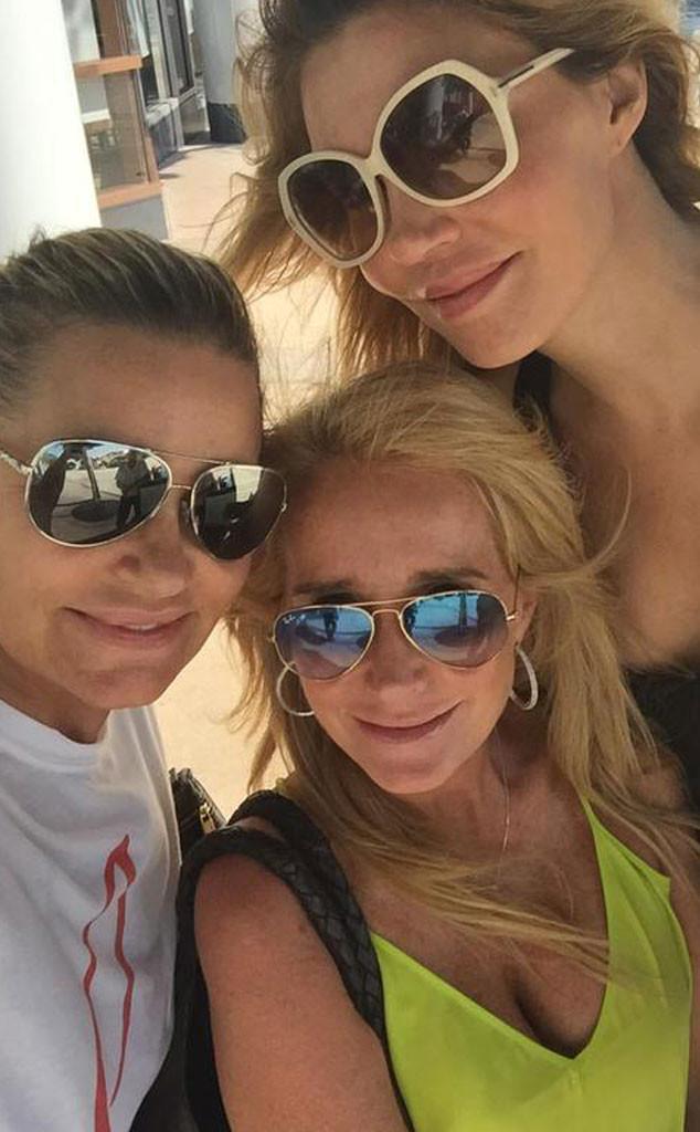 Kim Richards, Brandi Glanville, Yolanda Foster, Selfie