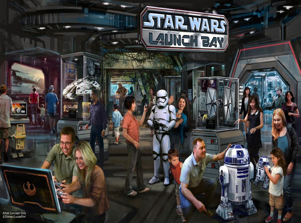 Star Wars Disneyland Attractions
