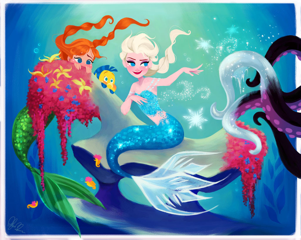 Disney Princess Art