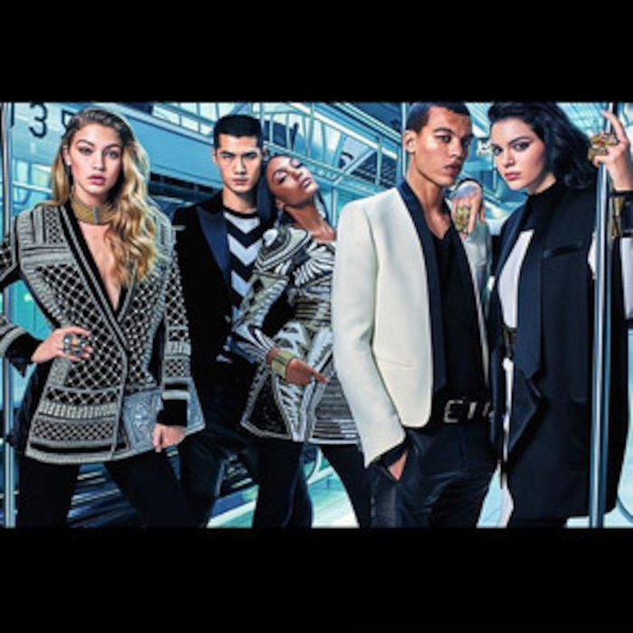 dbc67a08 Kendall Jenner, Gigi Hadid & Jourdan Dunn Lend Supermodel Power to Balmain  for H&M's Campaign—See the First Ad! | E! News UK