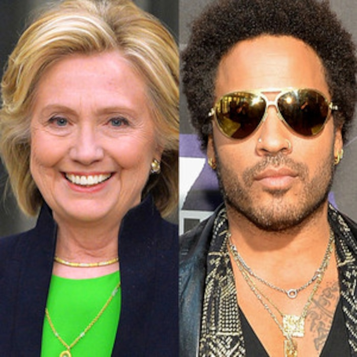 Hillary Clinton Would Like to See Lenny Kravitz's Penis | E ...
