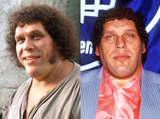 The Princess Bride, Andre The Giant