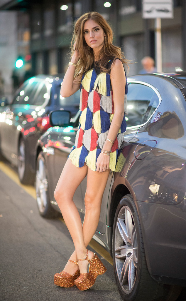 Chiara Ferragni, Milan Fashion Week, Street Style