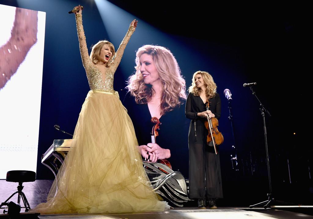 Taylor Swift Concert, Alison Krauss