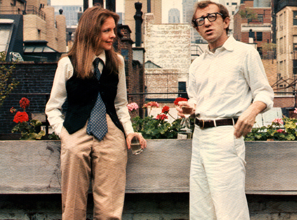 History of Pantsuits, Annie Hall, Diane Keaton