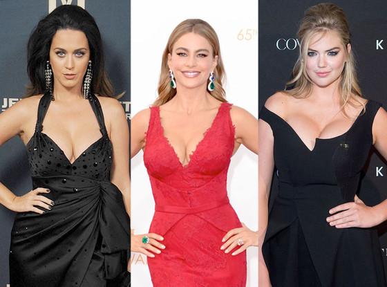 Katy Perry, Sofia Vergara, Kate Upton
