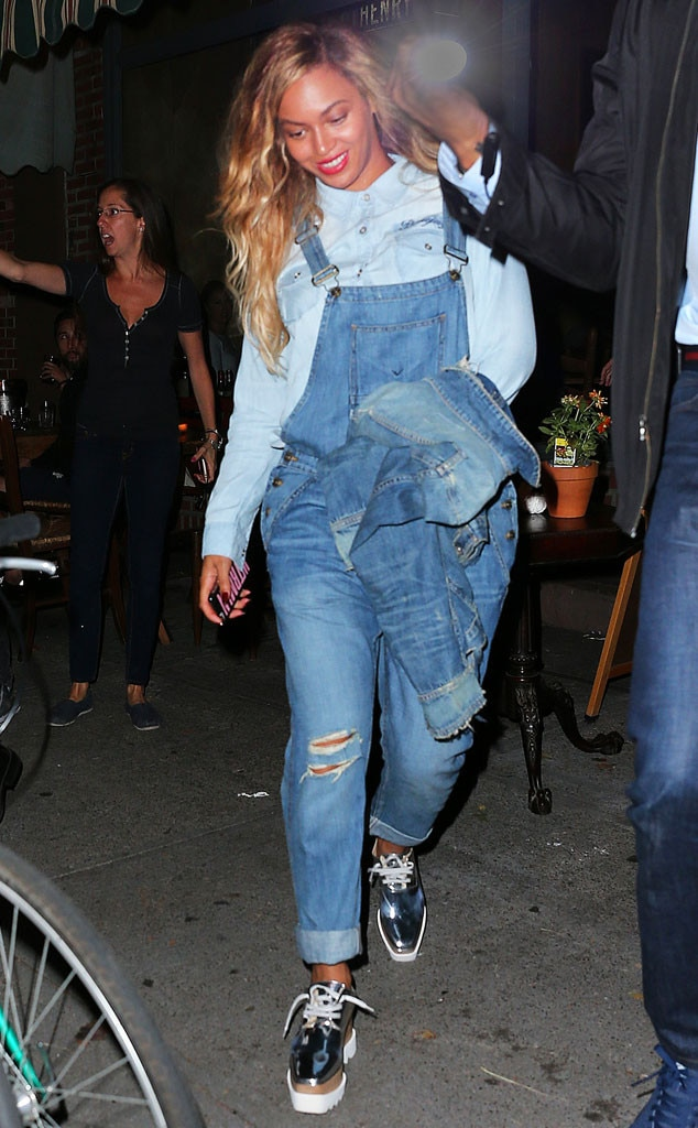 Double Denim from Beyoncé's Street Style | E! News