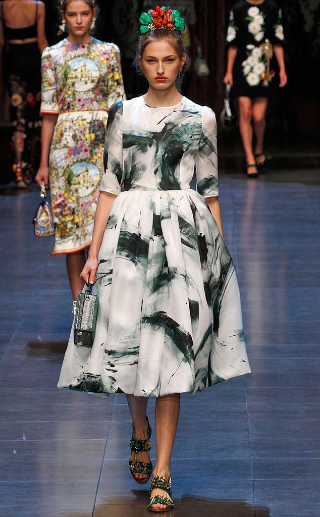 MFW, Best Looks, Dolce & Gabbana Runway