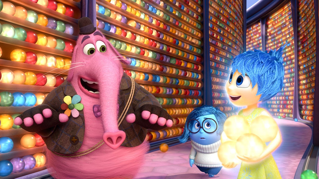 2. Inside Out  (2015) -  Riley ( Kaitlyn Dias ) is a happy 11-year-old girl living in Minnesota, but everything changes when her family relocates to San Francisco.