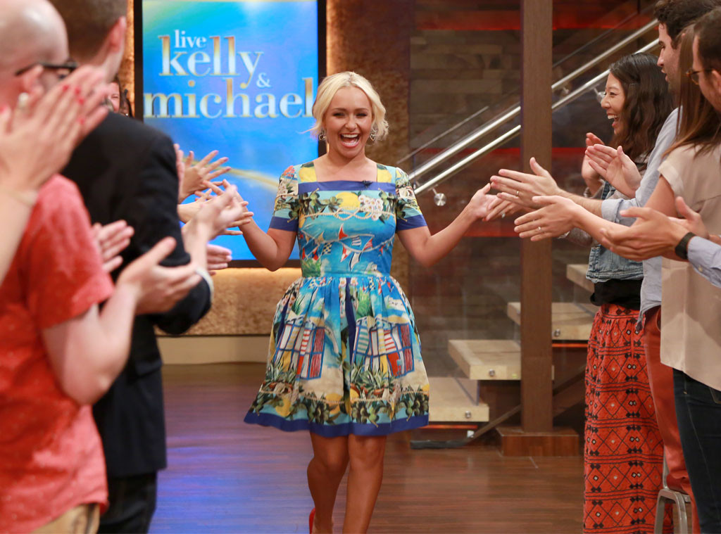 Hayden Panettiere, Live With Kelly And Michael