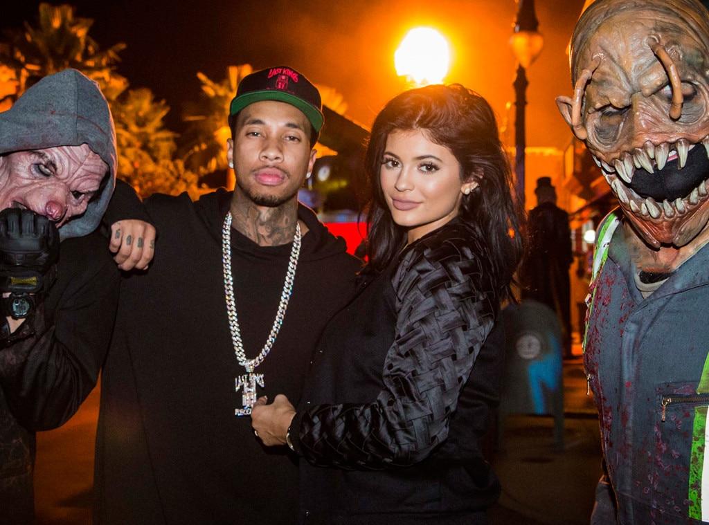 Kylie Jenner, Tyga, Halloween Horror Nights