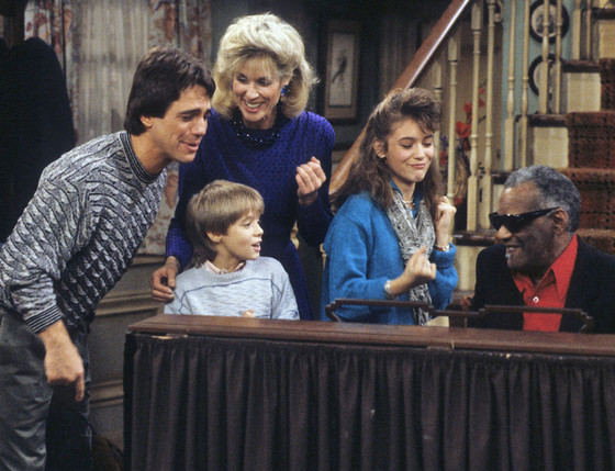 Who's The Boss, Tony Danza, Danny Pintauro, Alyssa Milano, Judith Light, Ray Charles
