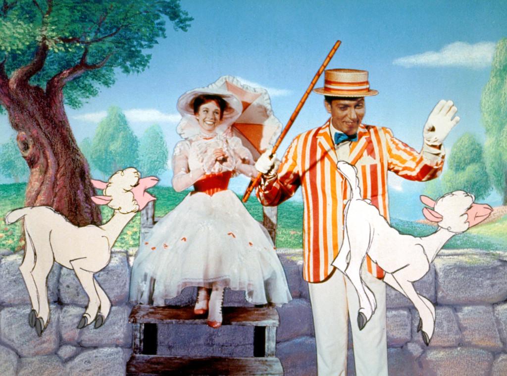 """Julie Andrews, """"Mary Poppins"""" movie still"""