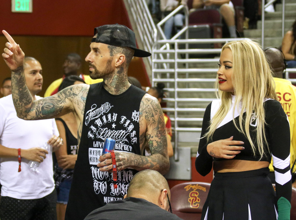 Travis Barker, Rita Ora
