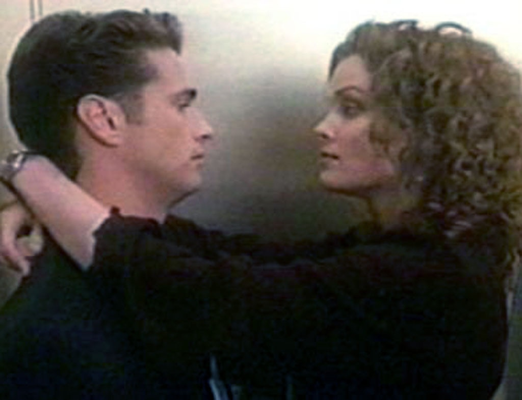 Jason Priestley, Dina Meyer, 90210 Couples