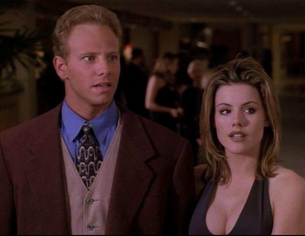Ian Ziering, Kathleen Robertson, 90210 Couples