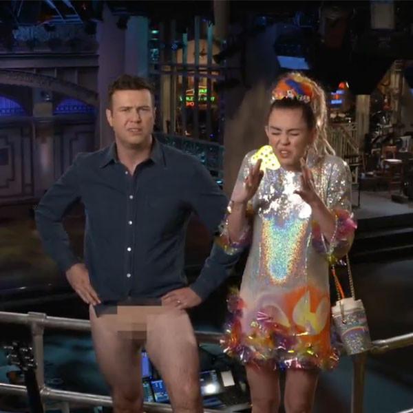 Miley Cyrus, Saturday Night Live Promo, Taran Killam