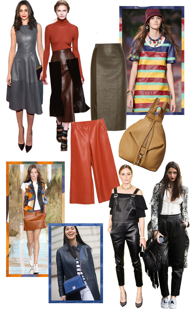 Fall Trends, Leather