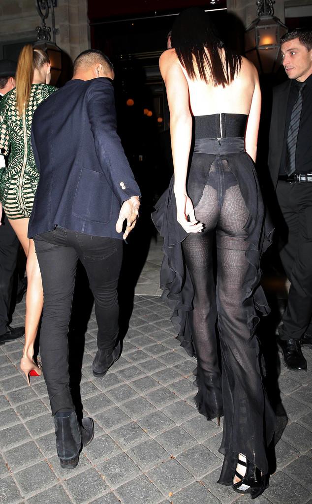 Kendall Jenner, Butt