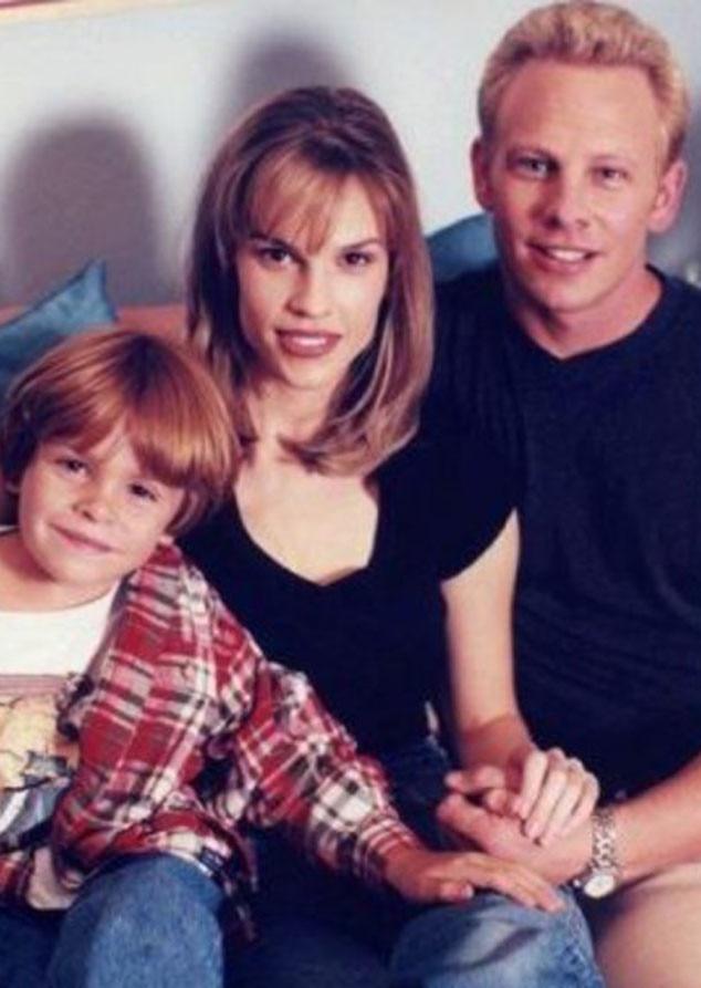 Ian Ziering, Hilary Swank, 90210 Couples