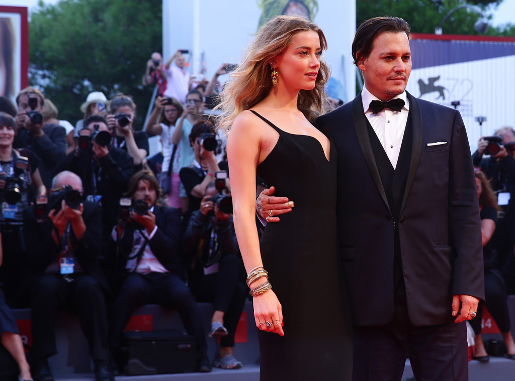 Amber Heard, Johnny Depp, Venice Film Festival