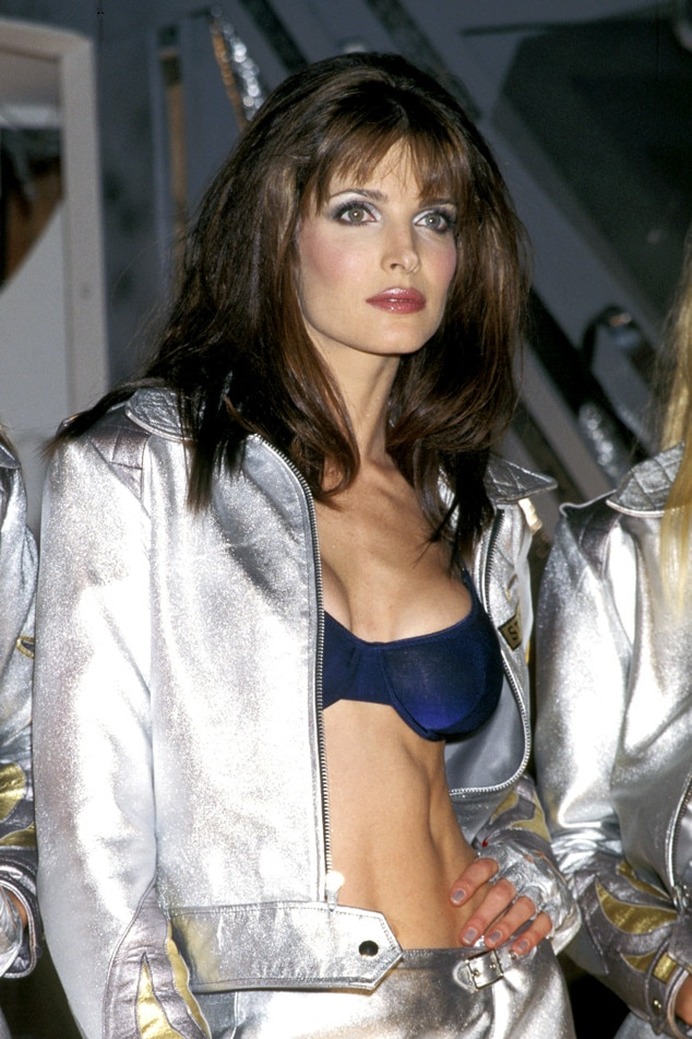 stephanie seymour then from supermodels then and now e news