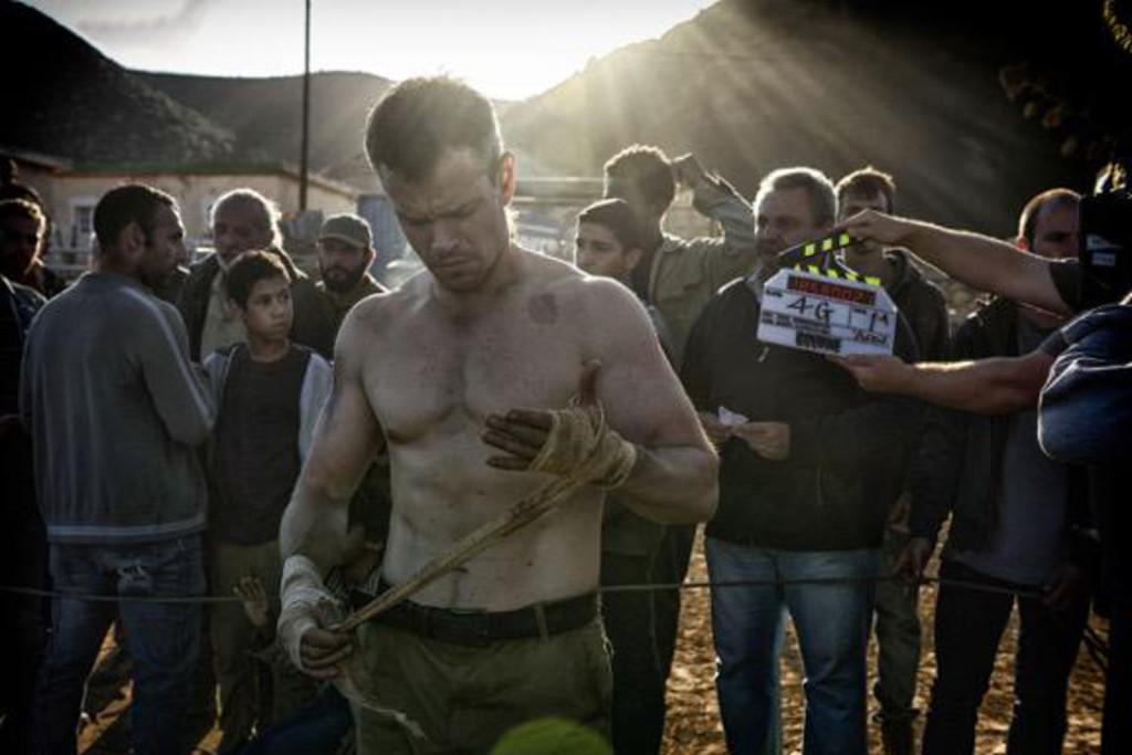 Matt Damon, Bourne