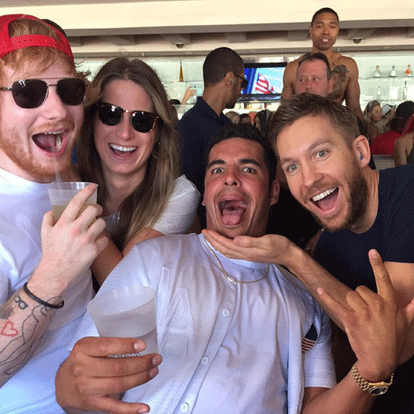 Ed Sheeran, Cherry Seaborn, Calvin Harris