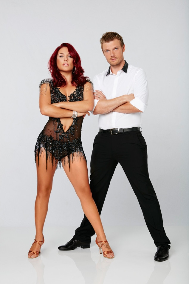 Sharna Burgess Nick Carter, Dancing with the Stars