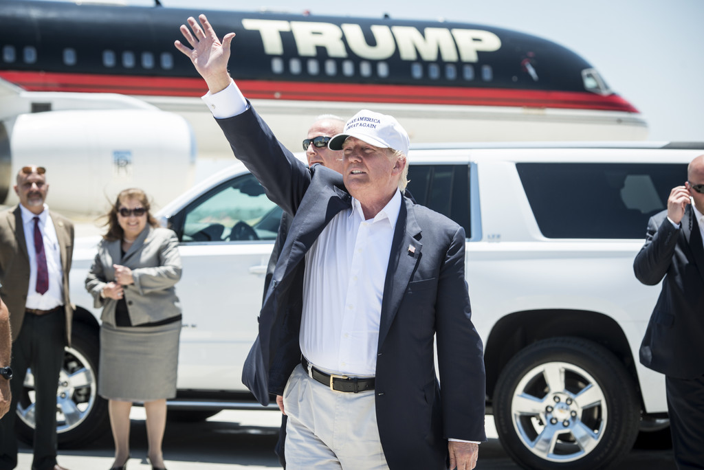 Donald Trump in Hot Water Over Man's Anti-Muslim Comments at Presidential Rally