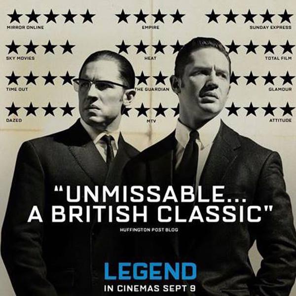 Tom Hardy, Legend Poster