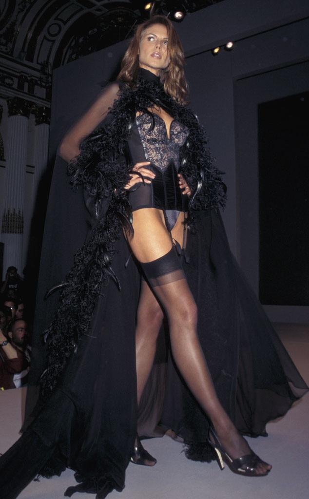 Supermodels First Runways, Heidi Klum, Victorias Secret 1997