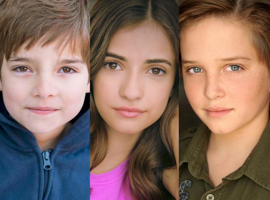 Elias Harger, Michael Campion, Soni Nicole Bringas, Fuller House