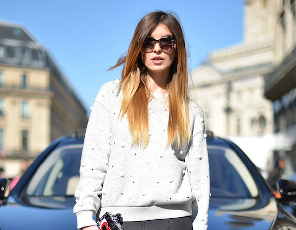 Kristi Gogsadze From Street Style At Paris Fashion Week Spring 2016 E News Canada