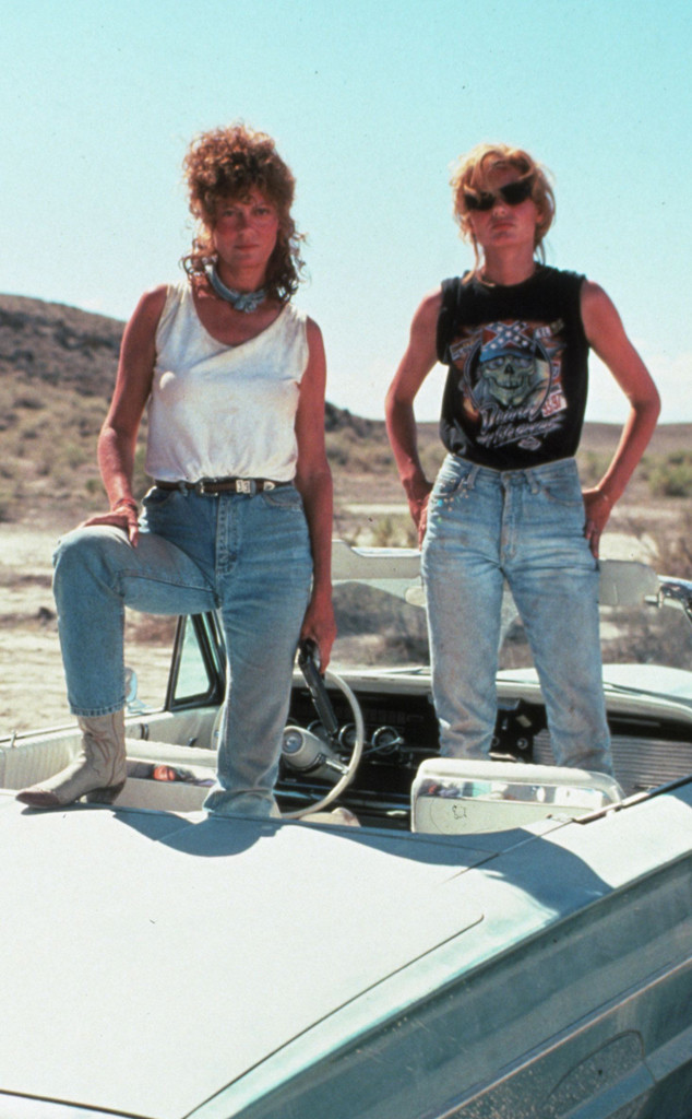 Thelma and Louise, Geena Davis, Susan Sarandon