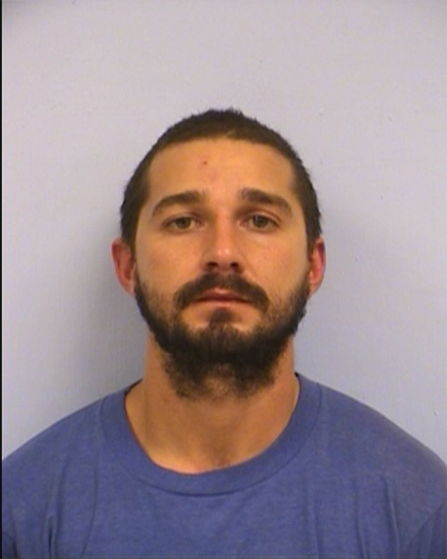 Shia LaBeouf, Mug Shot, Austin Police Department